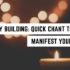 Energiegebäude: Schneller Gesang, um Ihr Bedürfnis zu manifestieren »Reichliche Erde